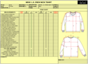 TECH PACK TEMPLATES SEWN GOODS PATTERN MAKERS SAMPLE MAKERS - Tech pack template