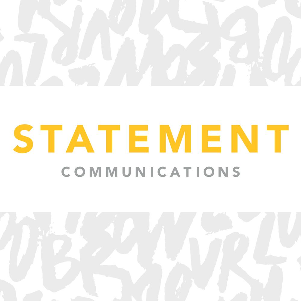 Logo:  Statement Communications