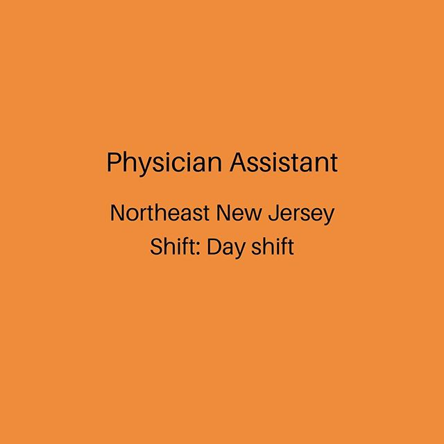 Have hospital experience? Click the link in our bio to apply for this Physician Assistant job. • • • • • #Nursing #Nurses #Nurse #RNJobs #NurseJobs #Recruiter #Healthcare #Jobs #Hospital #HospitalJobs #RegisteredNurse #RegisteredNurseLife #RegisteredNurseJobs #Clinic #Professional #Medical #Doctor #HiringTips #InterviewTips #PhysicianAssistant