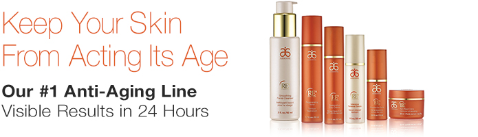 Keep Your Skin From Acting It's Age   Get visible results within 24 hours with our #1 anti-aging collection, powered by 9 age-defying elements and botanicals.