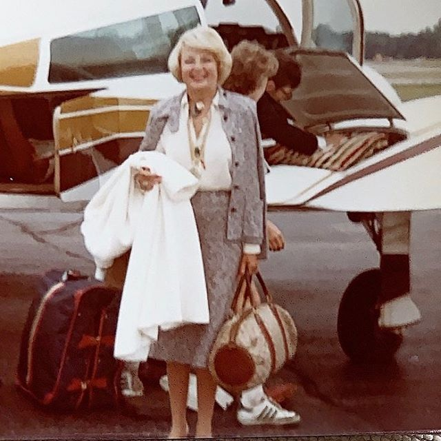 """""""You can't hit a moving target,"""" my grandmother used to say about traveling and aging. She left us a year ago today at the age of 93 and I miss her every day."""