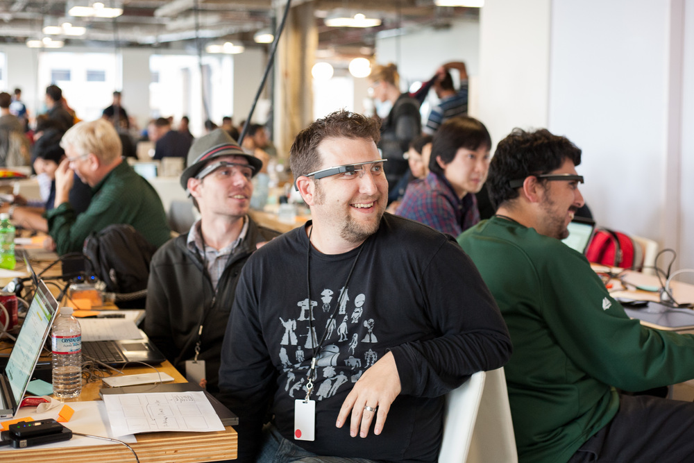 The SF Glass Basecamp hosted a two-day GDK launch and hackathon in November of 2013.