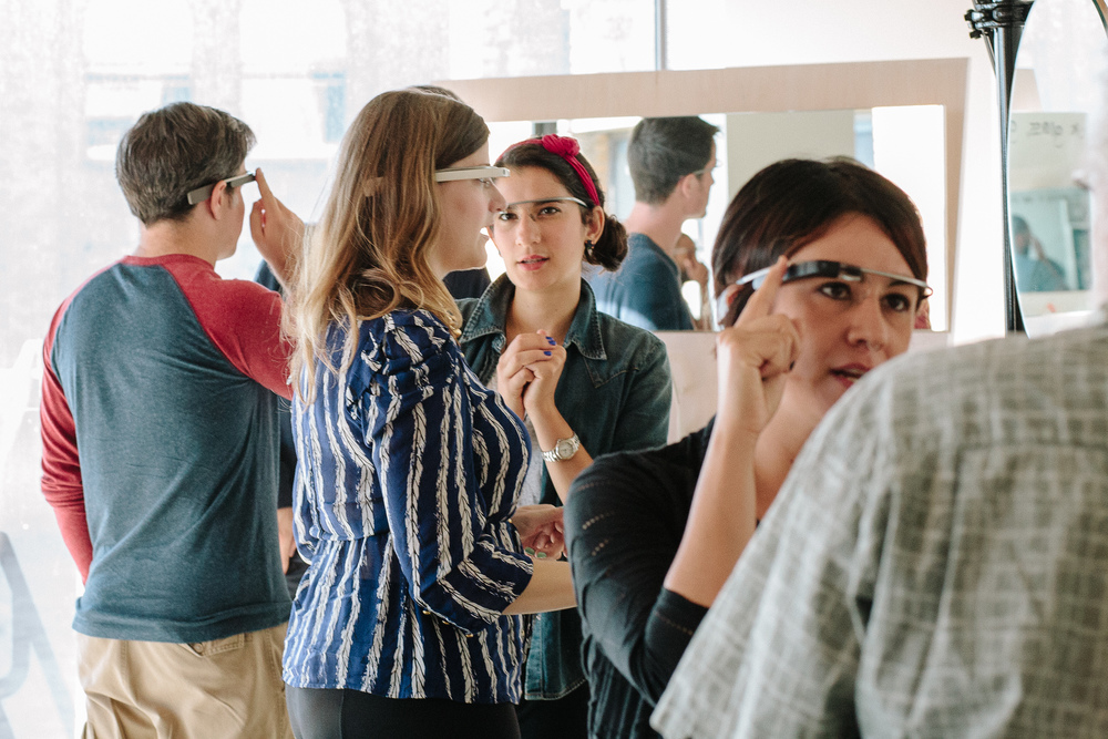 In 2013, Glass Guides hosted demo sessions for interested Googlers.
