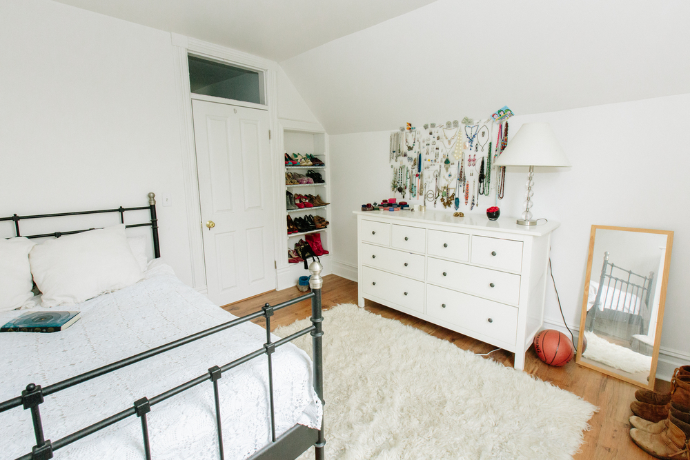 The second double bedroom is upstairs, with a fully remodeled bathroom adjacent.