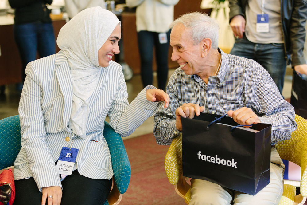 In February 2016, Facebook celebrated its 12th anniversary with a Friends Day celebration, inviting to its Menlo Park headquarters 18 users with incredible stories of connections created through its online community.