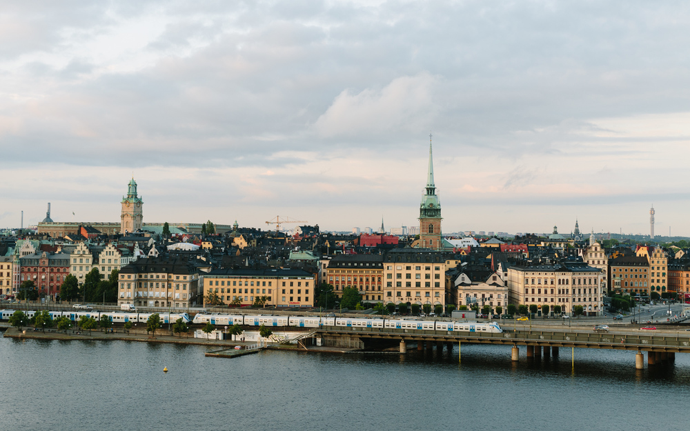 View from Södermalm.