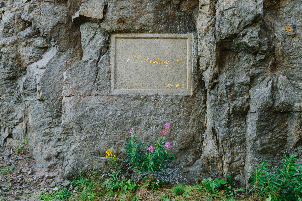 At one of the forts of Boden, signatures of Swedish royalty are embedded in the rock walls.