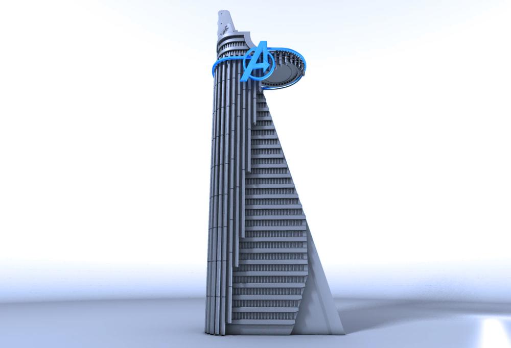 Avengers Tower model