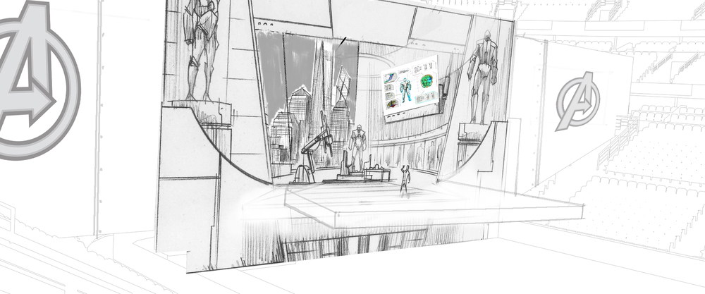 Tony's Lab storyboard
