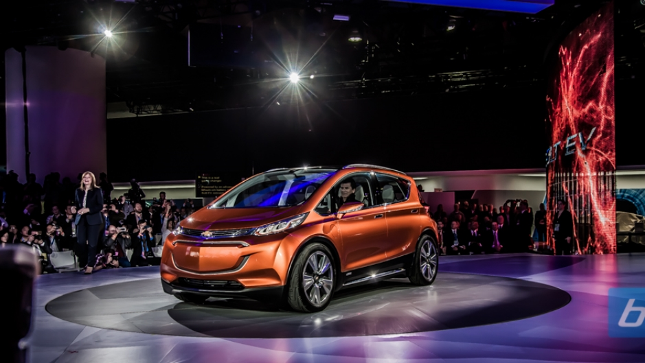 Chevrolet at NAIAS 2015