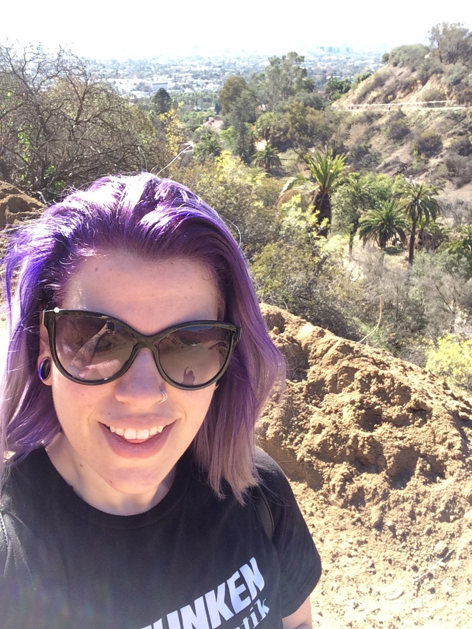 Getting my hike on in sunny Los Angeles ☀️