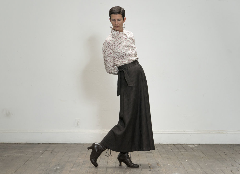 Larue blouse and Sandrine skirt
