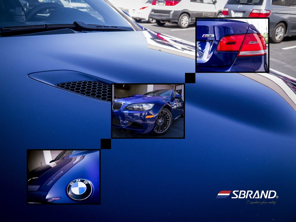 BMW M3  SBRAND Glass coating