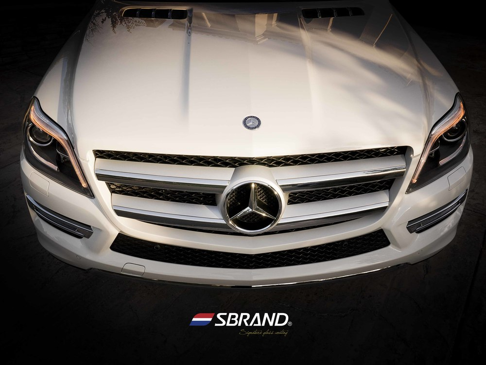 SBRNAD Signature Glass Coating Mercedes