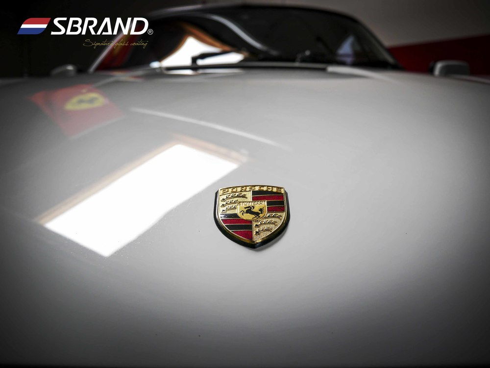 Glass Coating for classic gem- Porsche