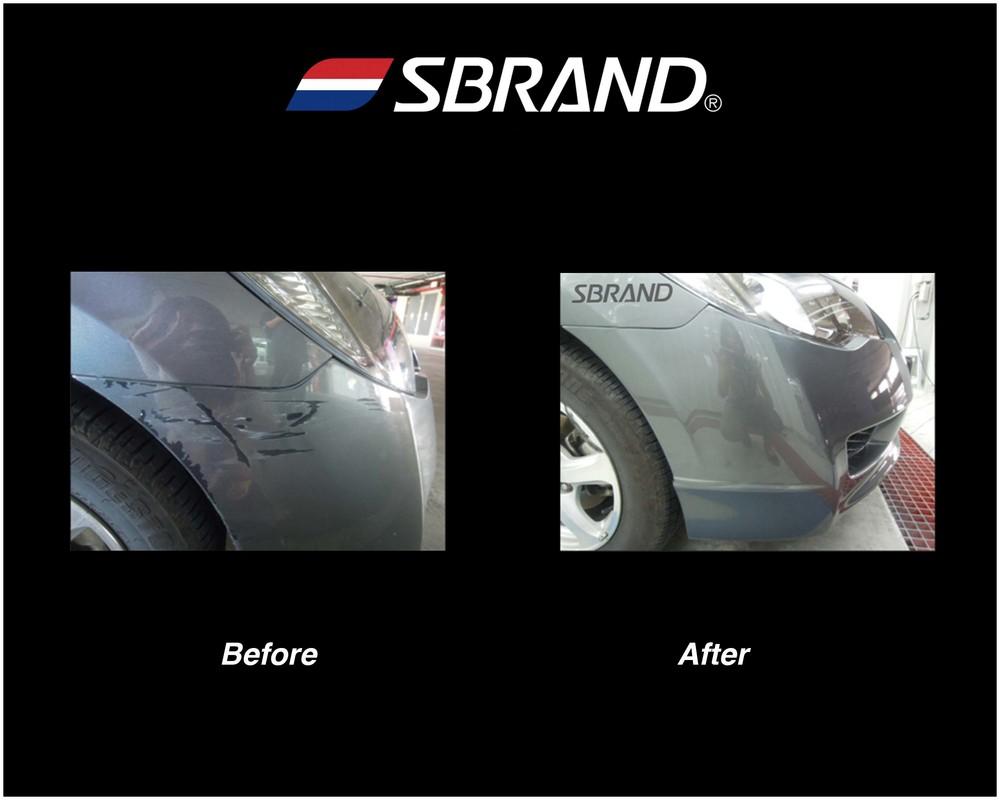 Front bumper scratch