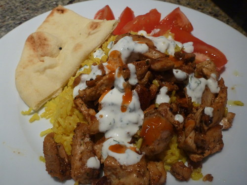 Halal Cart Style Chicken and Rice — We Ate That