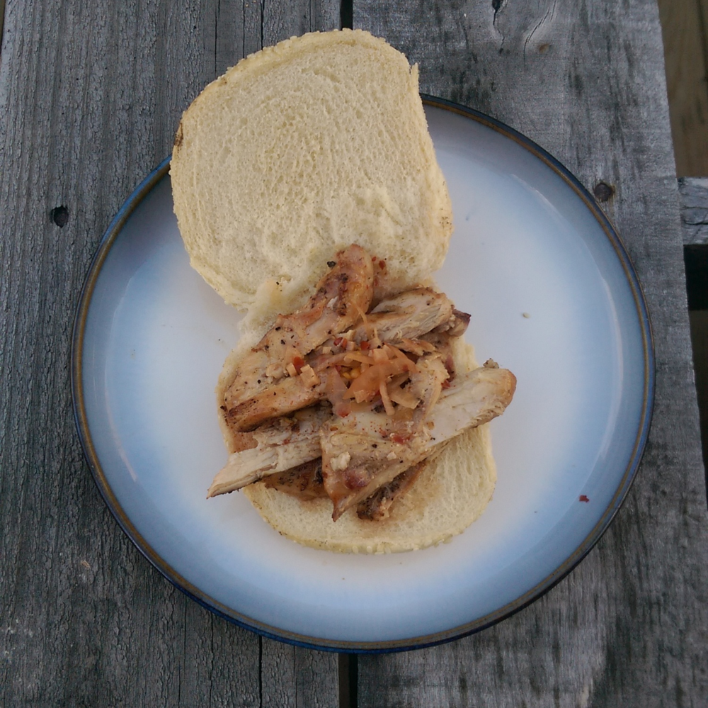East Carolina Style Chicken Sandwich
