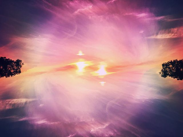 Ventura sun explosion  #sun#surreal#pink#purple#indieart#explosion#fireball#vsco#pstouch#indie#pop#psychadelic