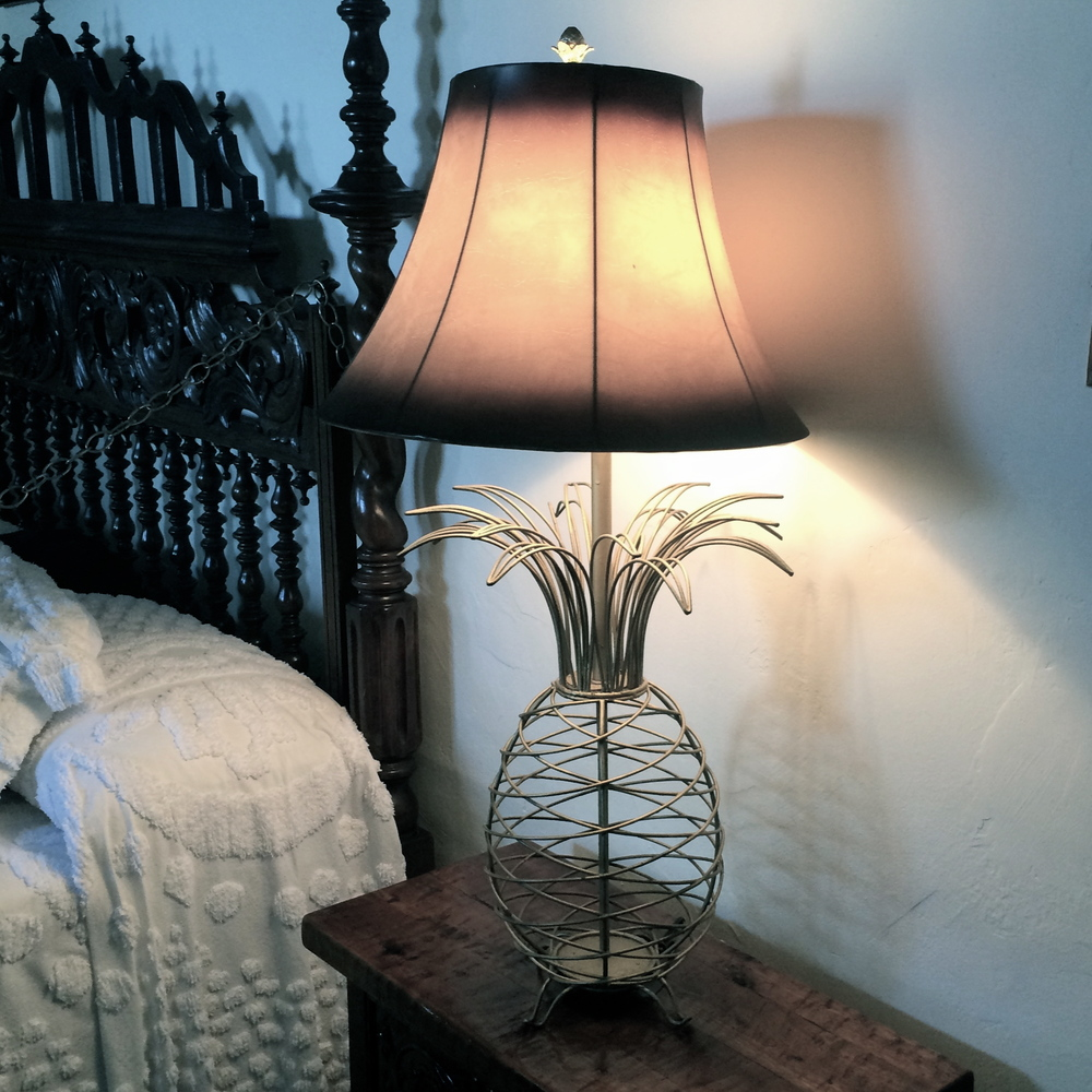 The Hemingway House's Pineapple Lamps
