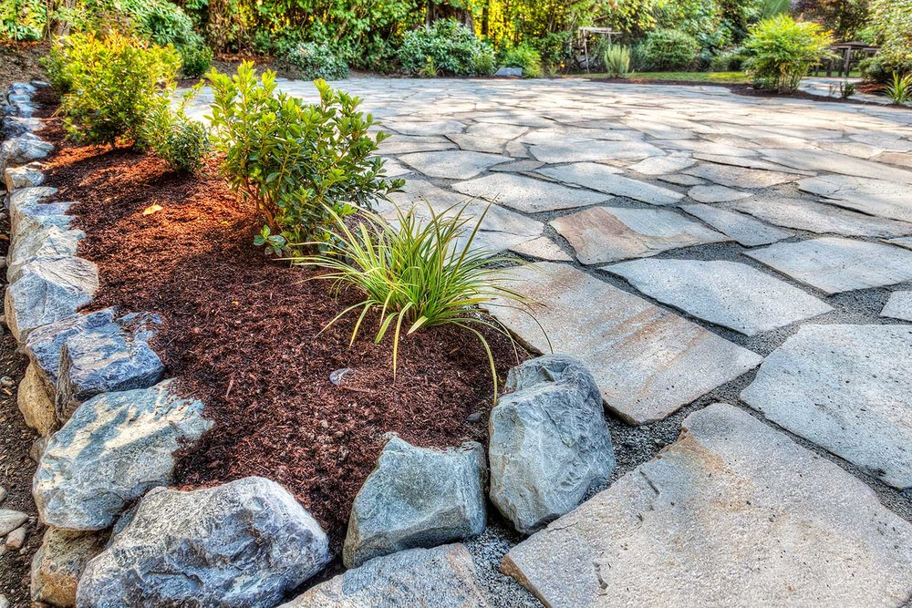 Hardscape Design - Custom Patios, Walkways & Retaining Wall Design & Installation. If It Has To Do With Pavers or Stone, We Can Build It. Certified Connecticut Tech-Bloc Contractors.