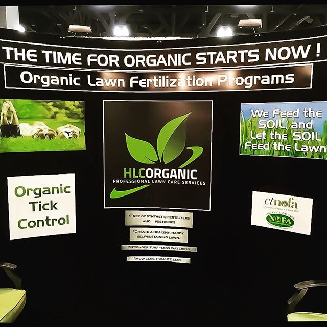 ONLY 2 DAYS LEFT! - CT Flower & Garden Show ends tomorrow! Stop by Booth #812 and chat with our #NOFA Certified Organic Lawn Care Professionals.  #hlcorganic #ctflowerandgardenshow #conventioncenter #hartford #ct #organiclawncare #organic #lawncare