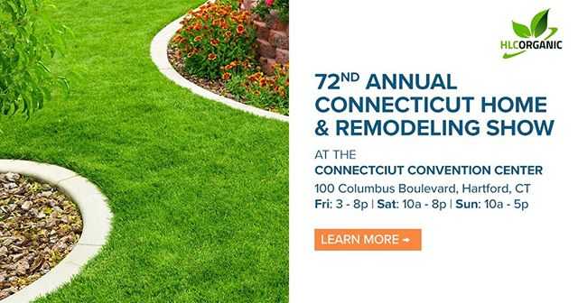 Get 25% OFF Tickets to the Connecticut Home & Remodeling Show at the Connecticut Convention Center this weekend only using Hillside Landscaping's exclusive promo code! See you there! *|URL|*