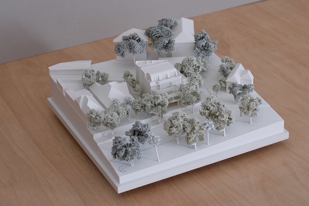 1:200 Development Application Model for North Sydney Council