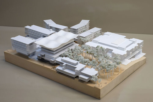 Macquarie University Central Courtyard Precinct Kinkfab Model Makers