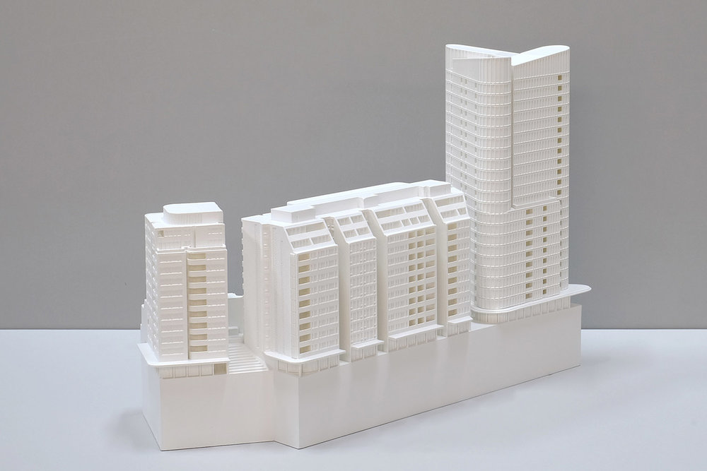 Scaled model for City of Sydney Development Application