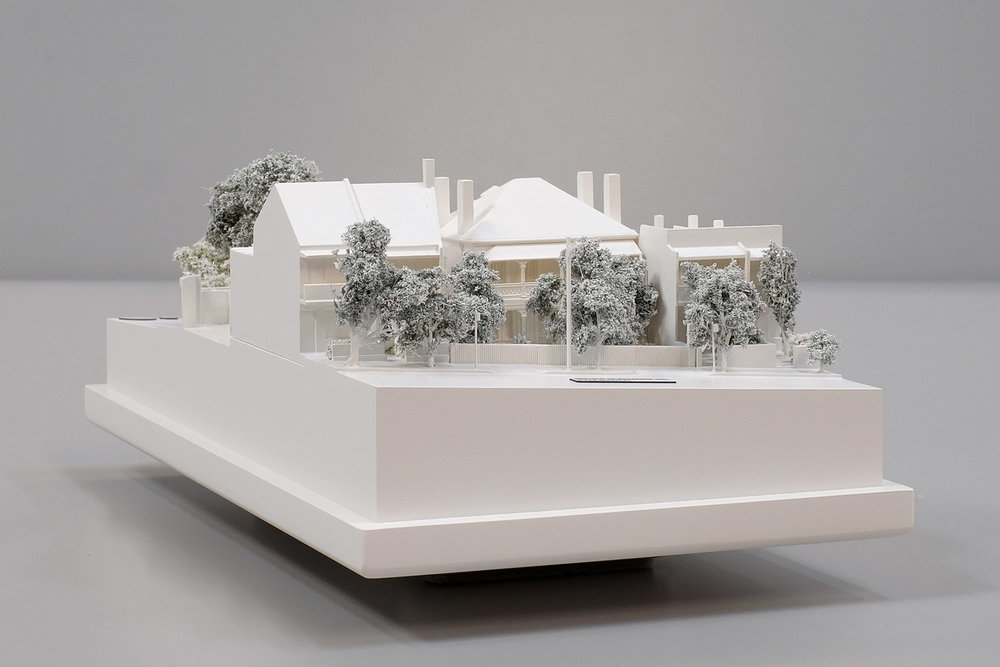 Scaled Model for Woollahra Council Development Applications