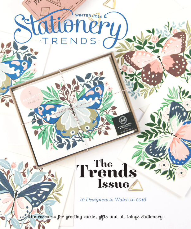 Cover of Stationery Trends Winter 2016 Issue