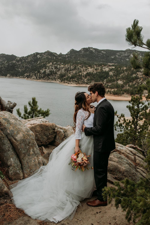 I love the romantic mood of Colorado mountains.