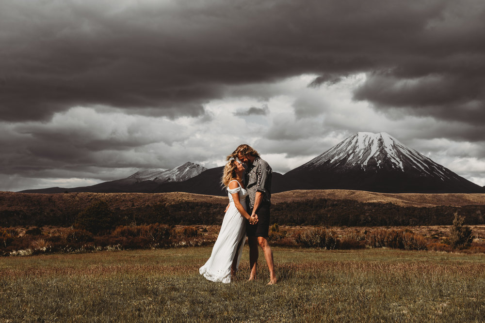 tongariro national park wedding