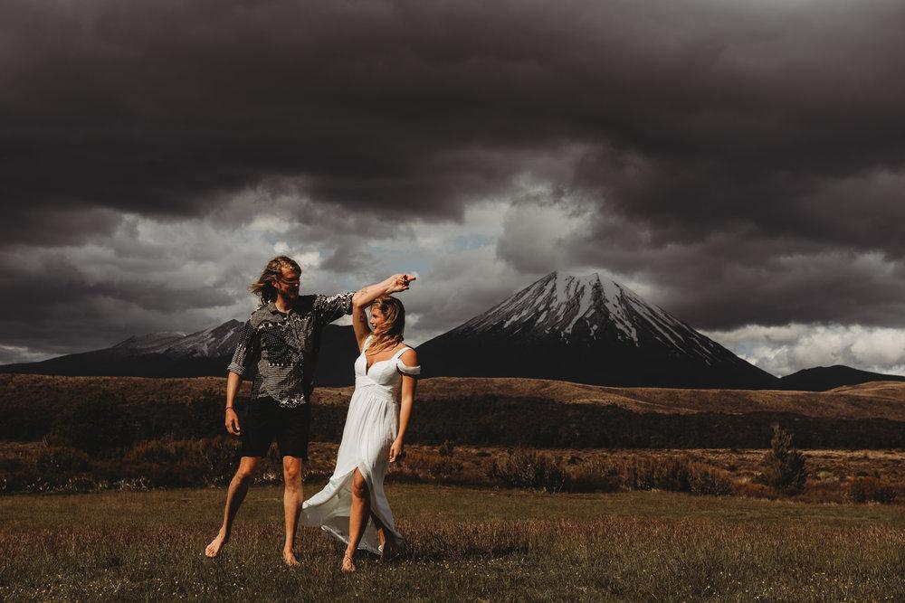 New Zealand engagement travel