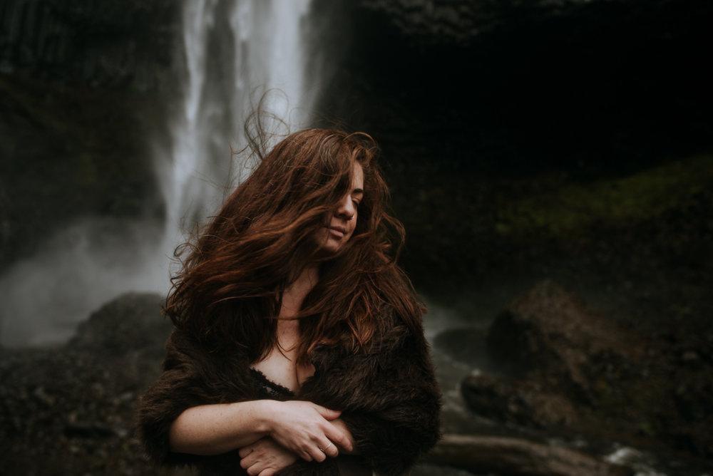 Waterfalls and mood.
