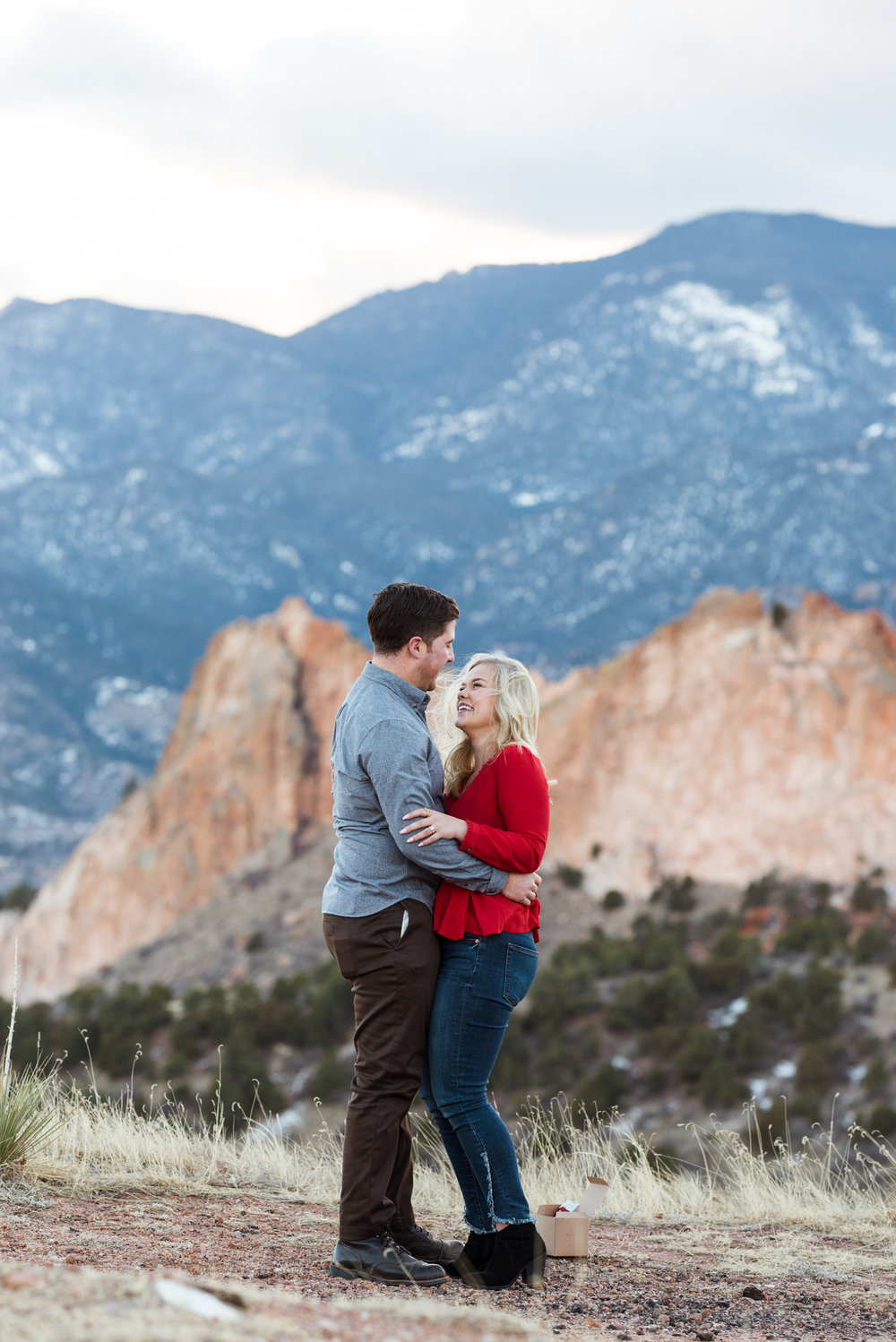 Check out this surprise Colorado Springs proposal photoshoot. She said yes!
