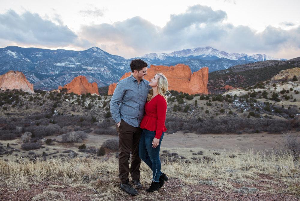 Gorgeous colorado springs surprise proposal!