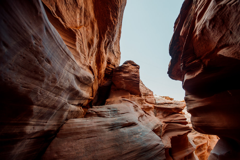 Waterhole canyon was stunning! I would have spend all day here if I could!