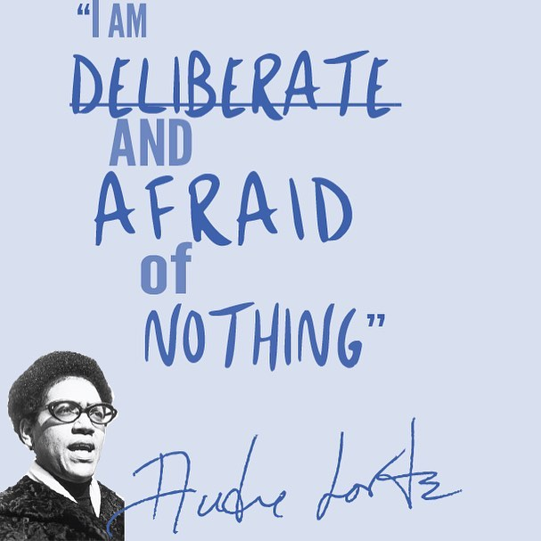 Can't forget about my girl Audre Lorde! You hold a special place in my heart qween—happy birthday!!