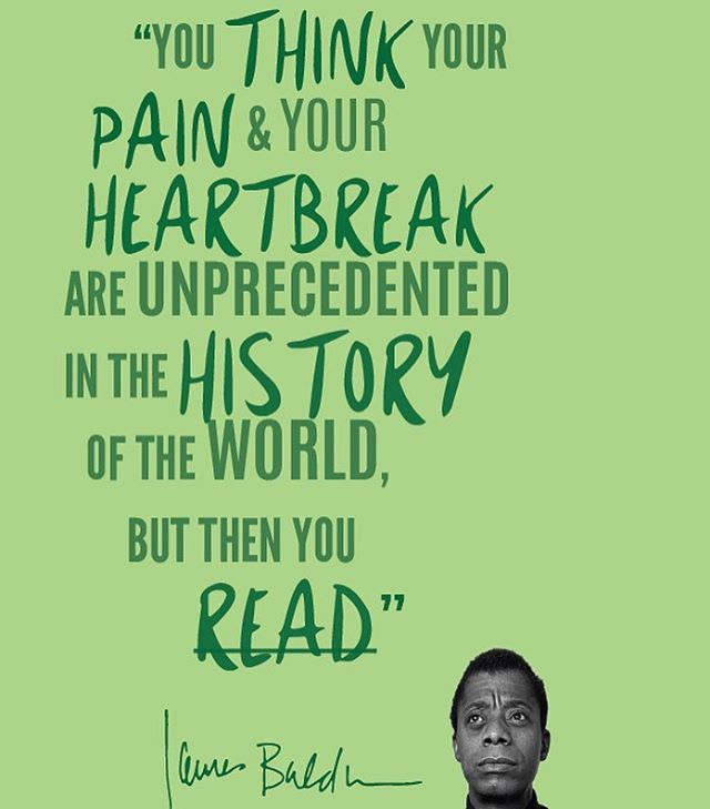 A word. #jamesbaldwin