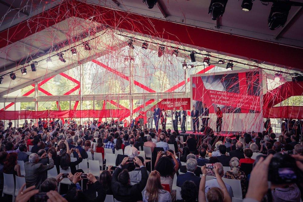 Cornell Tech Opening