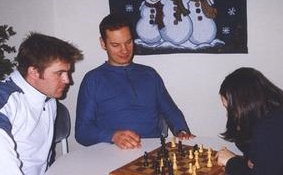 Ben, the master chess player - at University