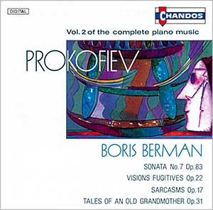 Prokofiev: Complete Piano Music, Vol. 2