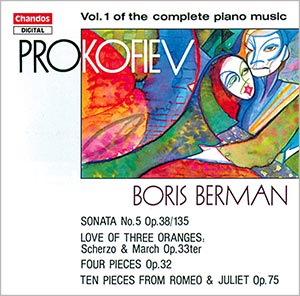 Prokofiev: Complete Piano Music, Vol. 1