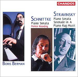 Schnittke: Sonata No. 1 Stravinsky: Sonata, Serenade in A, Piano-rag-music