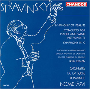 Stravinsky: Concerto for Piano and Winds