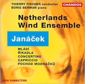 Janáček: Concertino, Capriccio, with Netherlands Wind Ensemble, Thierry Fischer conducting