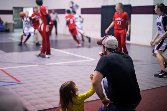Basketball game Kilgore Longview Texas Parents