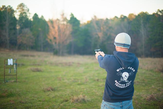 Texas Kilgore Shooting Range Naomi VanDoren